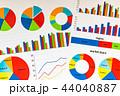 資料 データ ビジネスの写真 44040887