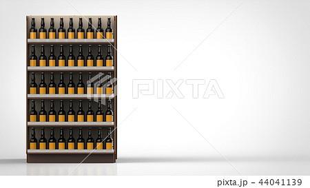 ビールの棚 側面 左 44041139
