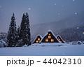 雪景 銀世界 雪景色の写真 44042310