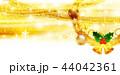 クリスマス 金 装飾のイラスト 44042361