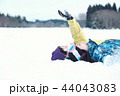 スキー場の女性 44043083