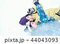 スキー場の女性 44043093