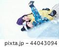 スキー場の女性 44043094