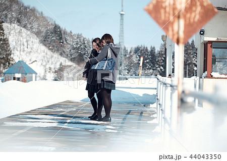 雪国の女子高生 44043350