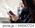 女性 アジア人 プレゼントの写真 44043724