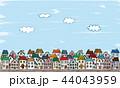 街並み 街 風景のイラスト 44043959