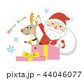 クリスマス サンタ サンタクロースのイラスト 44046077
