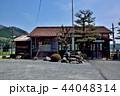 鉄道駅 木造駅舎 美作滝尾駅の写真 44048314