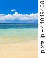 石垣島 ビーチ 海の写真 44049408