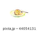 ロールケーキ ケーキ 水彩のイラスト 44054131