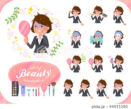 flat type business women Bad condition_beauty 44055260