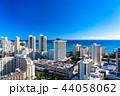 ハワイ ワイキキ 風景の写真 44058062