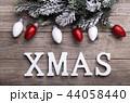 クリスマス バックグラウンド 背景の写真 44058440