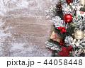 クリスマス バックグラウンド 背景の写真 44058448