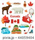 Canada icons set. 44059404