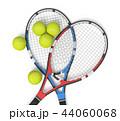 ラケット テニス 2のイラスト 44060068