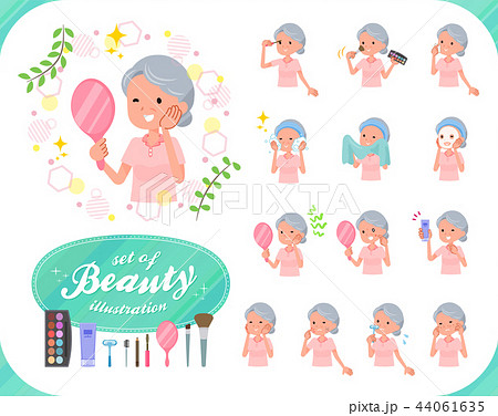 flat type patient senior woman_beauty 44061635