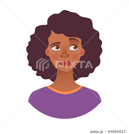 portrait of african woman 44064037