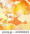 背景 紅葉 秋のイラスト 44066845