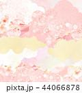 和柄 桜 ピンクのイラスト 44066878
