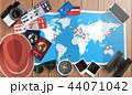 バケーション トラベル パスポートのイラスト 44071042