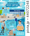 ポスト 郵便 配置のイラスト 44072248