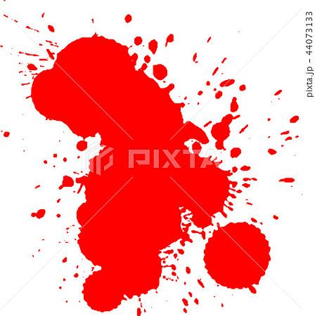 血痕 血飛沫 ハロウィン イラストのイラスト素材 44073133 Pixta