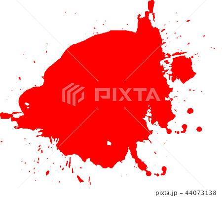 血痕 血飛沫 ハロウィン イラストのイラスト素材 44073138 Pixta