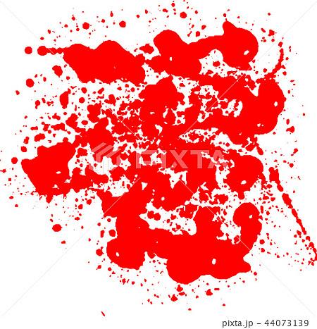 血痕 血飛沫 ハロウィン イラストのイラスト素材 44073139 Pixta