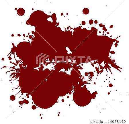 血痕 血飛沫 ハロウィン イラストのイラスト素材 44073140 Pixta