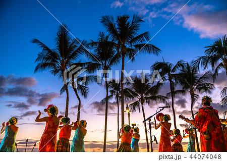 《ハワイ》フラダンスショー・ハワイイメージ 44074048