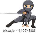 マンガ 漫画 刀のイラスト 44074388