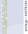 梅 白梅 花のイラスト 44076164