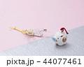 亥の人形と鶴の水引 44077461