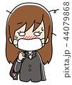 風邪 インフルエンザ 女性のイラスト 44079868