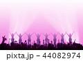 ライブ会場とオーディエンス 44082974