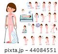 flat type patient young women_sickness 44084551