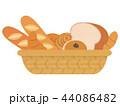 パンの盛り合わせ 44086482