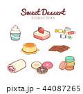 コレクション 集 デザートのイラスト 44087265