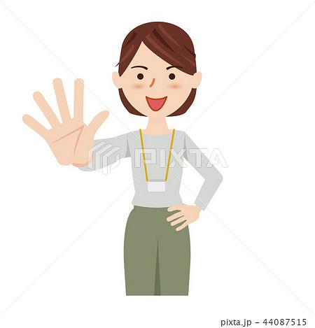 ビジネス 女性 カジュアル ビジネスカジュアル スタッフ 44087515
