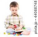 少年 男の子 男児の写真 44088748