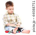 遊ぶ 少年 男の子の写真 44088751