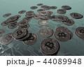 コイン ビットコイン 通貨のイラスト 44089948