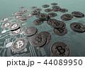 コイン ビットコイン 通貨のイラスト 44089950