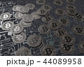 コイン ビットコイン 通貨のイラスト 44089958