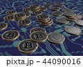 コイン ビットコイン 通貨のイラスト 44090016