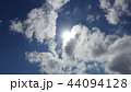 雲 風景 ブルーの写真 44094128