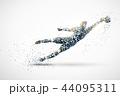 football silhouette 3 44095311
