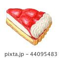 ケーキ スイーツ タルトのイラスト 44095483