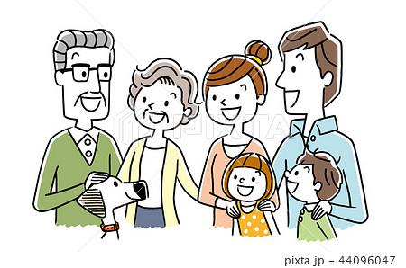 笑顔の家族 44096047